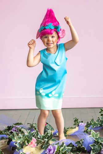 Princess Poppy Inspired Dress