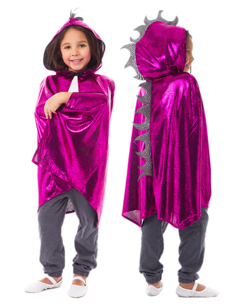 Magenta Scaley Dragon Cloak