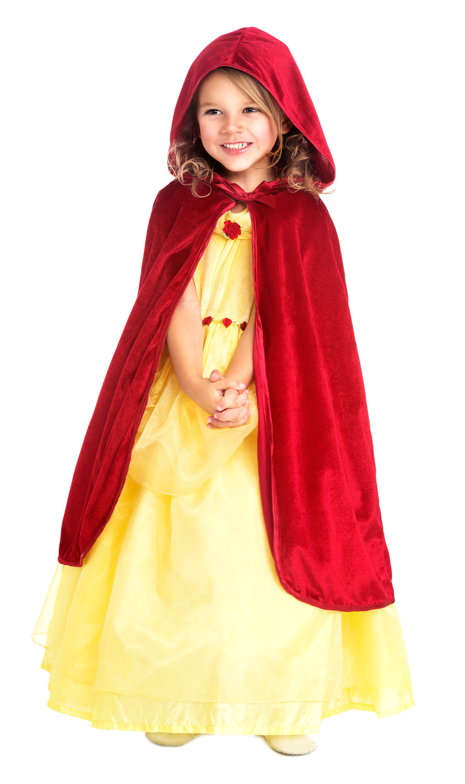 red princess cloak with hood dress up cloaks and capes accessory