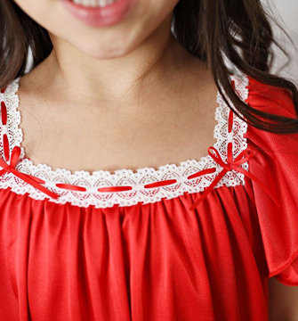 Red Vintage Nightgown