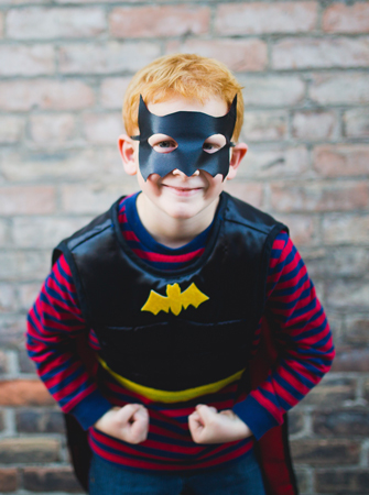 Reversible Superhero Tunic with Mask