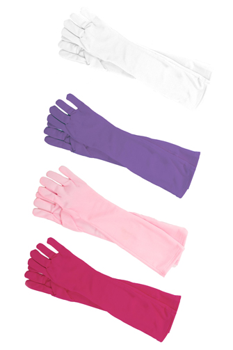 Set of 4 Long Princess Gloves