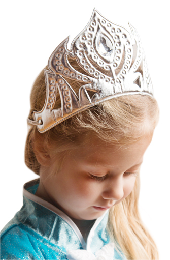Silver Ice Queen Soft Tiara