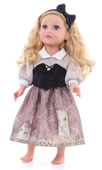 Briar Rose' Forest Dress for Dolls