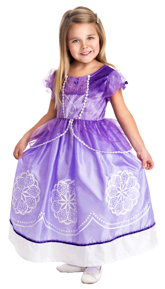 Sofia the First Inspired Princess Dress