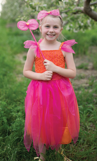 Sunset Flower Fairy Dress Set