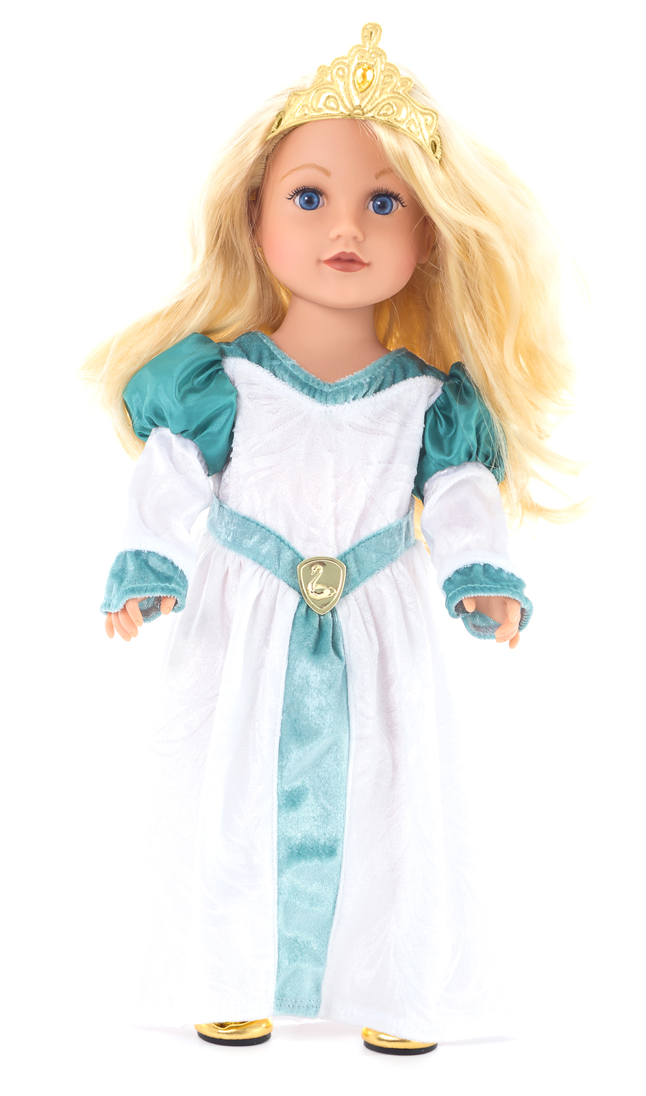 Swan Princess Odette Doll Dress. Zoom. Doll Tiara and Shoes not included.  sc 1 st  Little Dress Up Shop & Swan Princess Doll Dress