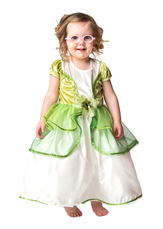 Frog Princess Tiana Replica Dress Up Costume