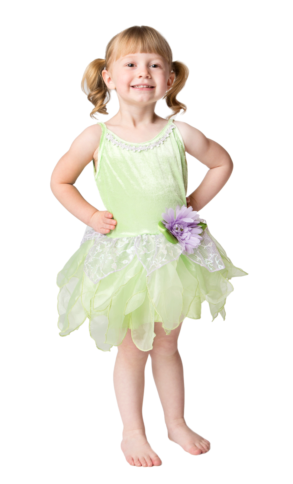 Toddler Green Tinkerbell Fairy Costume