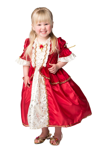 Toddler Red Winter Beauty Dress Up Costume