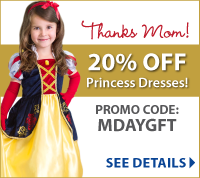 Mother's Day Coupon at LittleDressUpShop.com