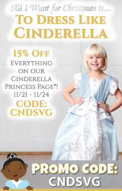 2014 Holiday Princess Dress Up Set Specials